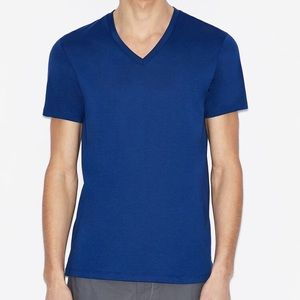 Armani Exchange Slim Fit Royal Blue T-shirt
